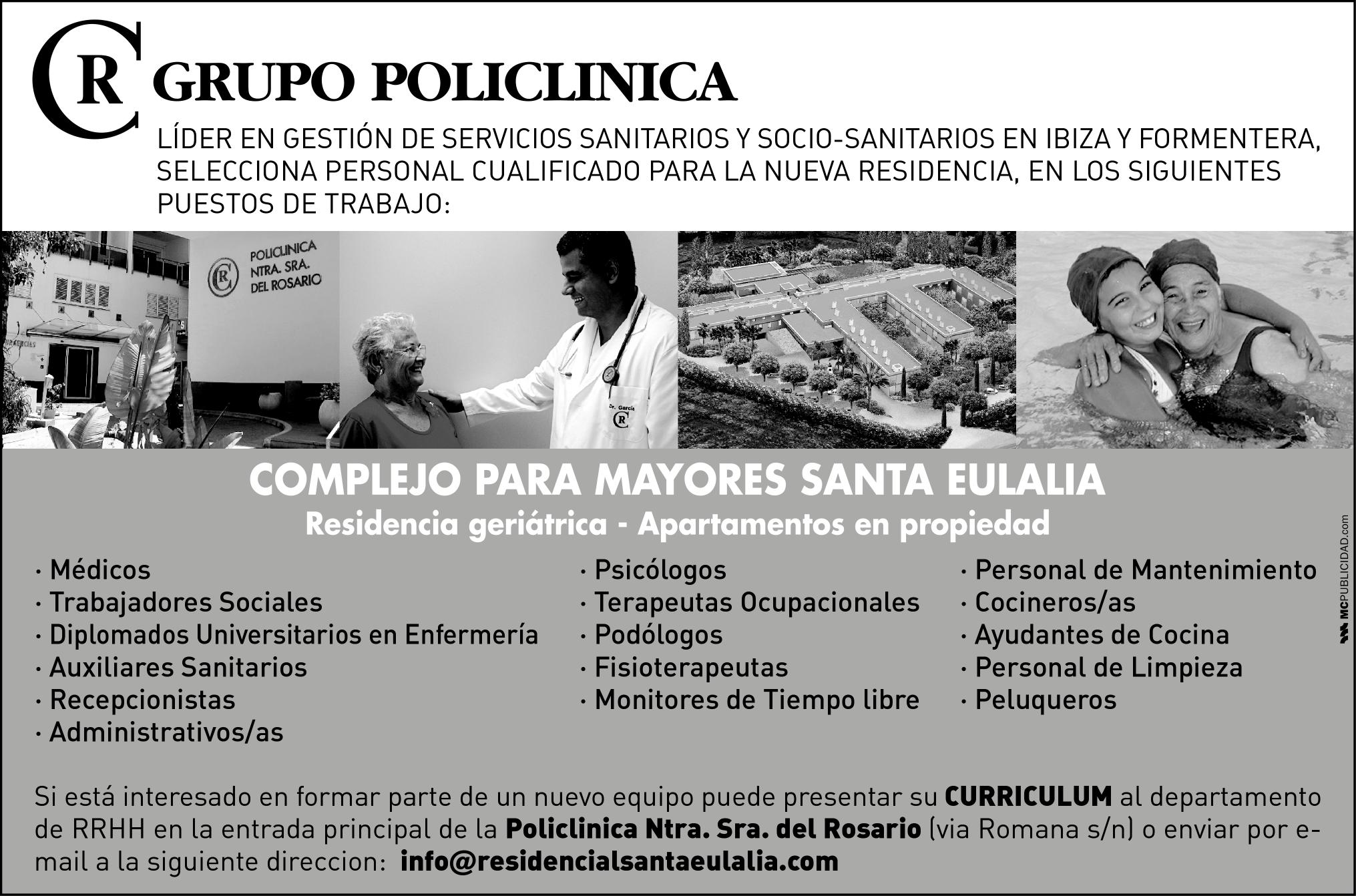 Media pagina – Grupo Policlinica BN