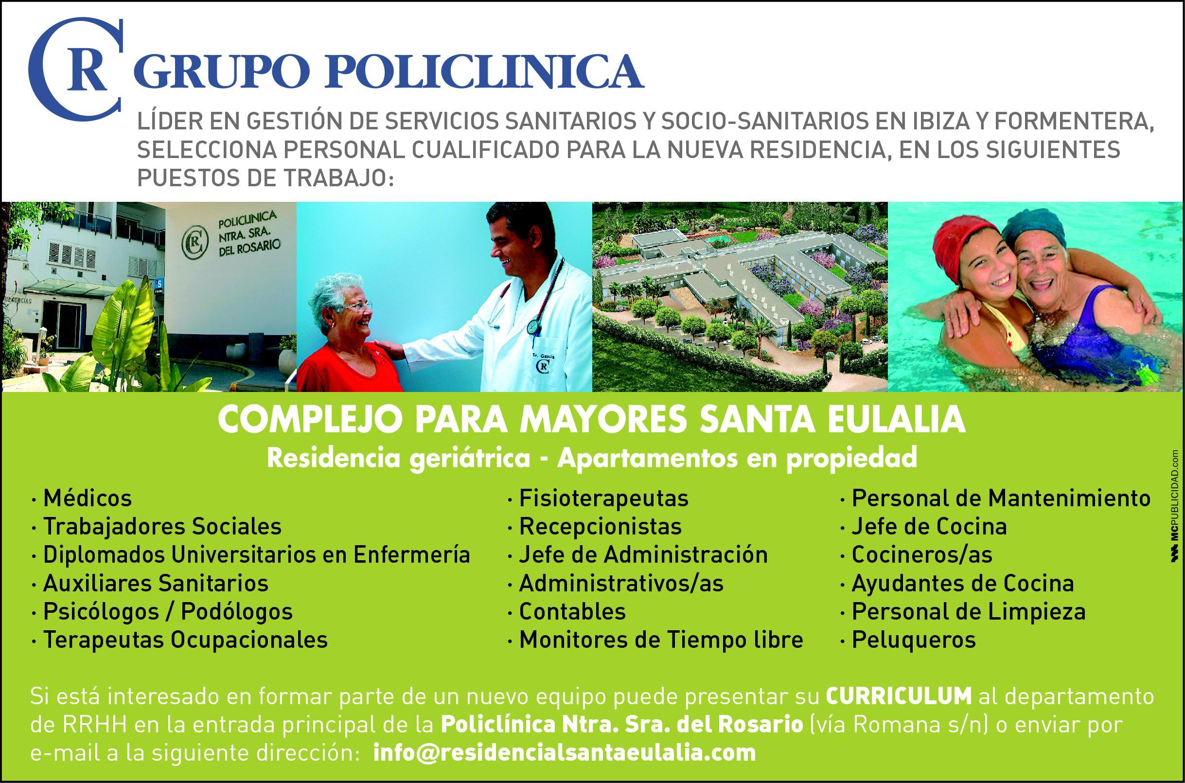 Media pagina – Grupo Policlinica COLOR